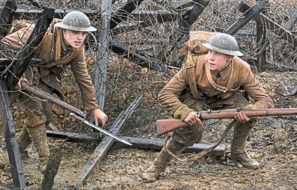 Dean-Charles Chapman and George MacKay star in the First World War film 1917