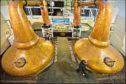 Whisky stills at Glenglassaugh Distillery, Portsoy