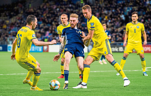 Oli McBurnie failed to make any headway in Kazakhstan – and he wasn't alone