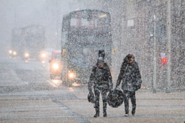 Cold snap brings risk of snow this week with temperatures plunging to -10C