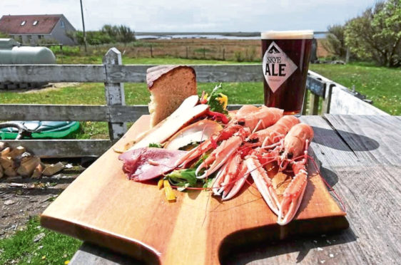 Local food and drink are a speciality at Westford Inn on North Uist