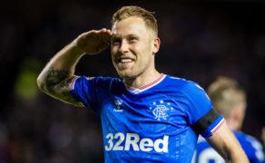 Rangers midfielder Scott Arfield is delighted he's seeing the bigger picture