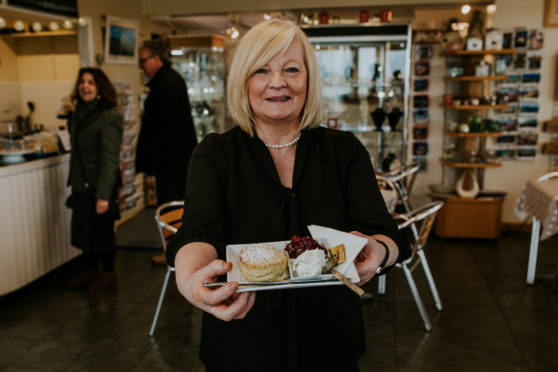 Jean MacLeod – better known to family, friends,                        customers and now Scone Spy as Jeanie Panini – welcomes our famished reviewer
