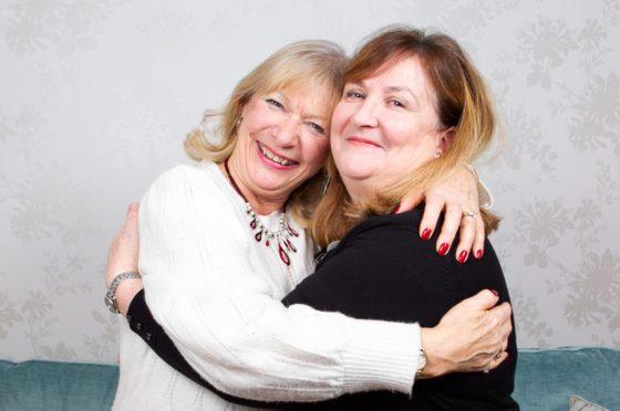 Alex Gray (left) and Lorna Dawson share a passion for true crime