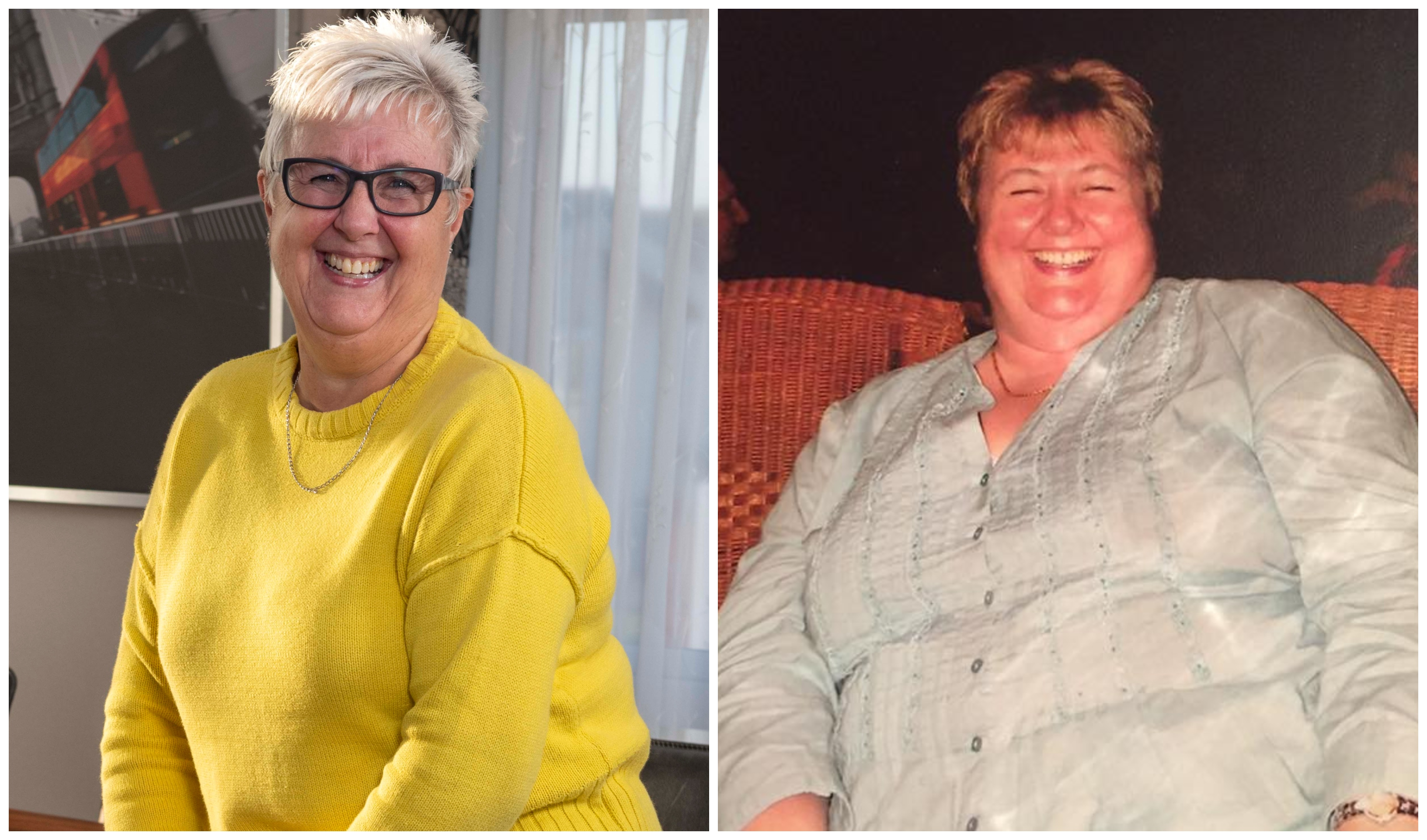 Doreen was a size 20 before the surgery which changed her life in 2008