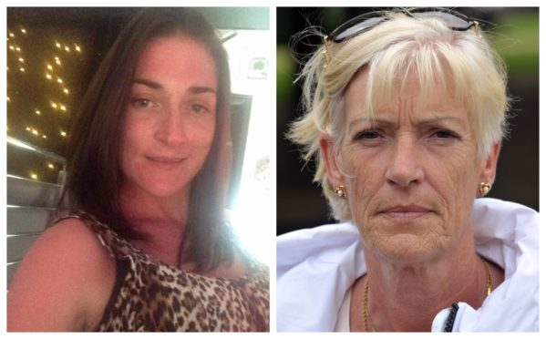 Mum of four Joanne Gallacher, left, was killed in December 2018. Her mum Louise has sent an official complaint to the NHS over what happened