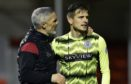 St Mirren manager Jim Goodwin (L) needs to hang on to Vaclav Hladky