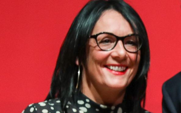 GMB Scotland organiser Karen Leonard