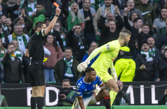 There can be no more red cards for Alfredo Morelos if Rangers are to maintain their title challenge
