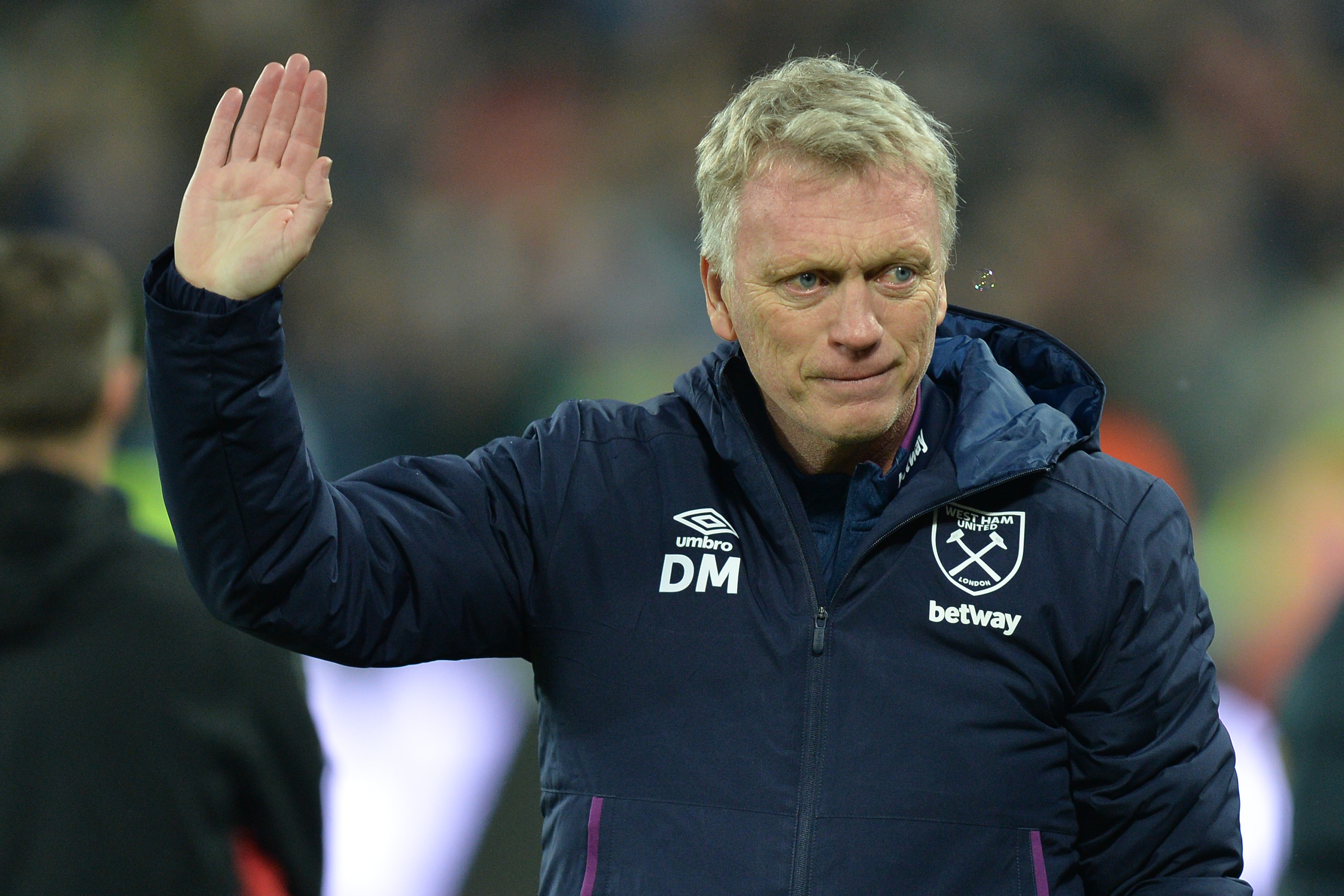 Davie Moyes bounced back in style for the Hammers on New Year's Day