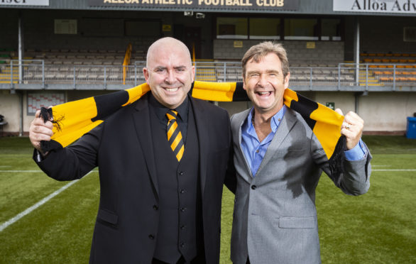 Mike Mulraney was delighted to be able to tempt Peter Grant to take up the reins at Alloa