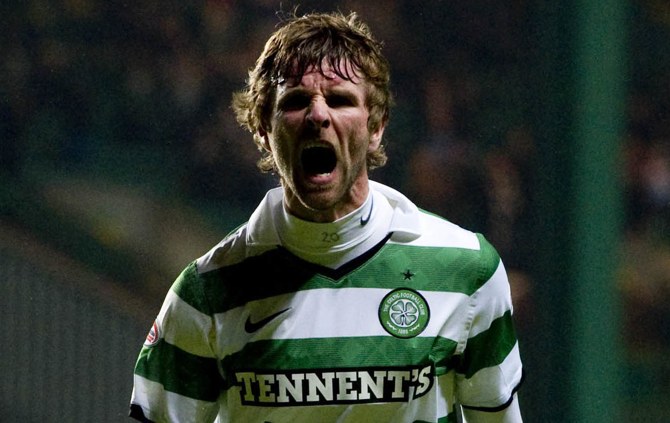 Paddy McCourt during his time at Celtic