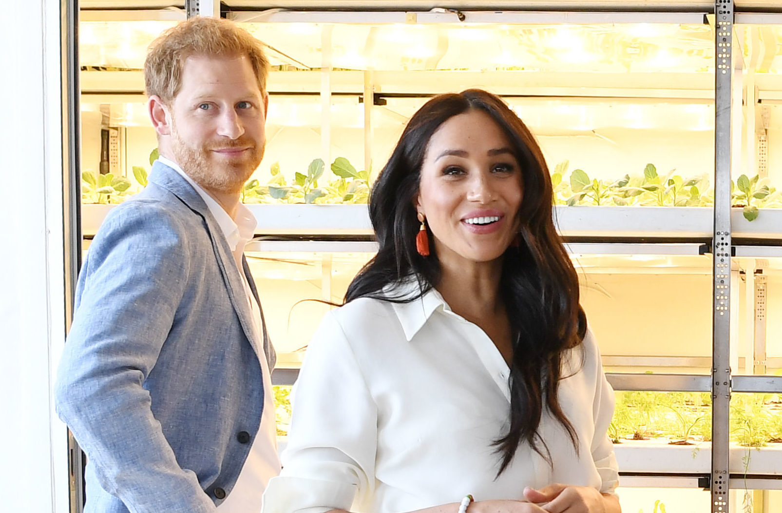 Harry and Meghan on tour in South Africa last year