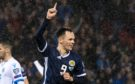 Lawrence Shankland celebrates scoring against San Marino in October