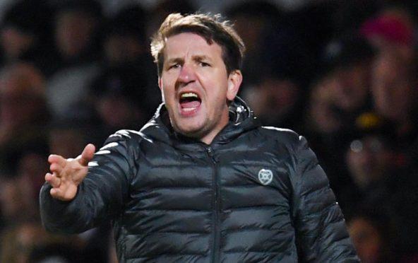 Hearts manager Daniel Stendel