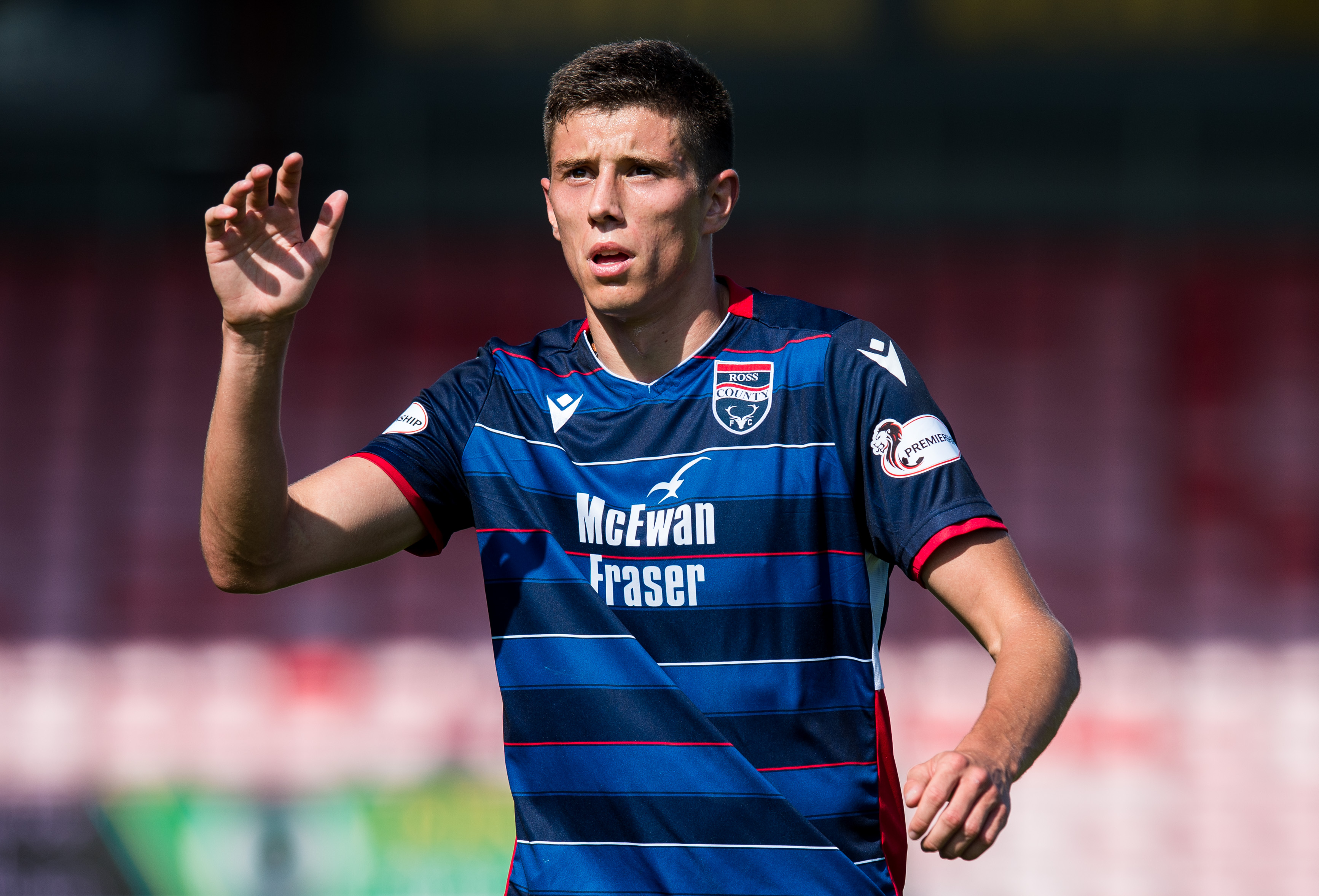 Staggies star Ross Stewart has impressed