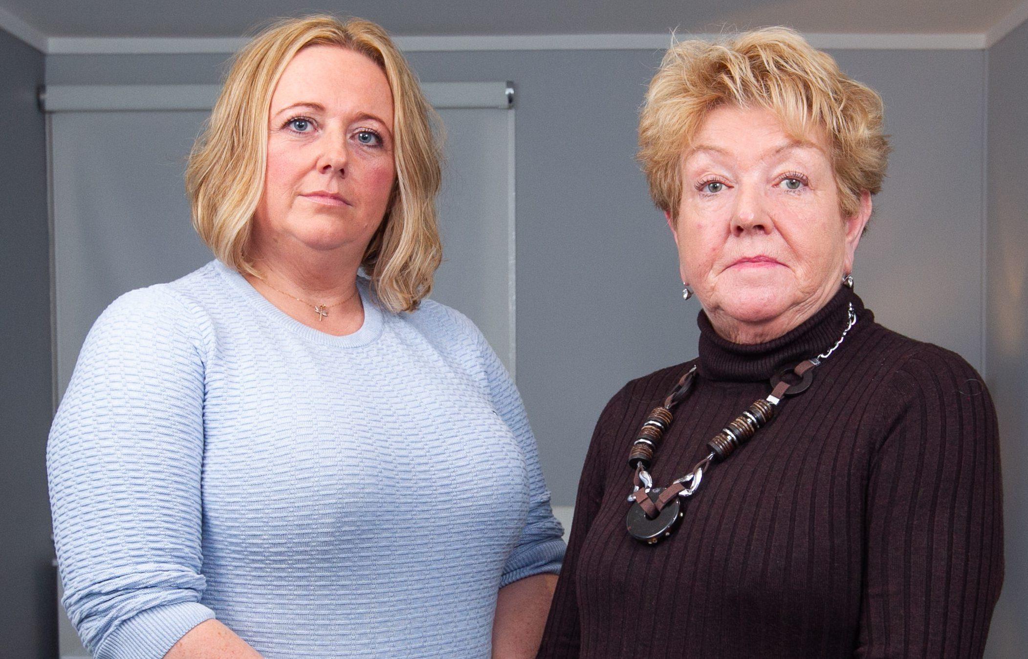 Lynn and mum Elizabeth