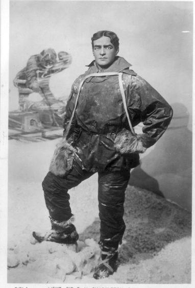 Explorer Sir Ernest Shackleton