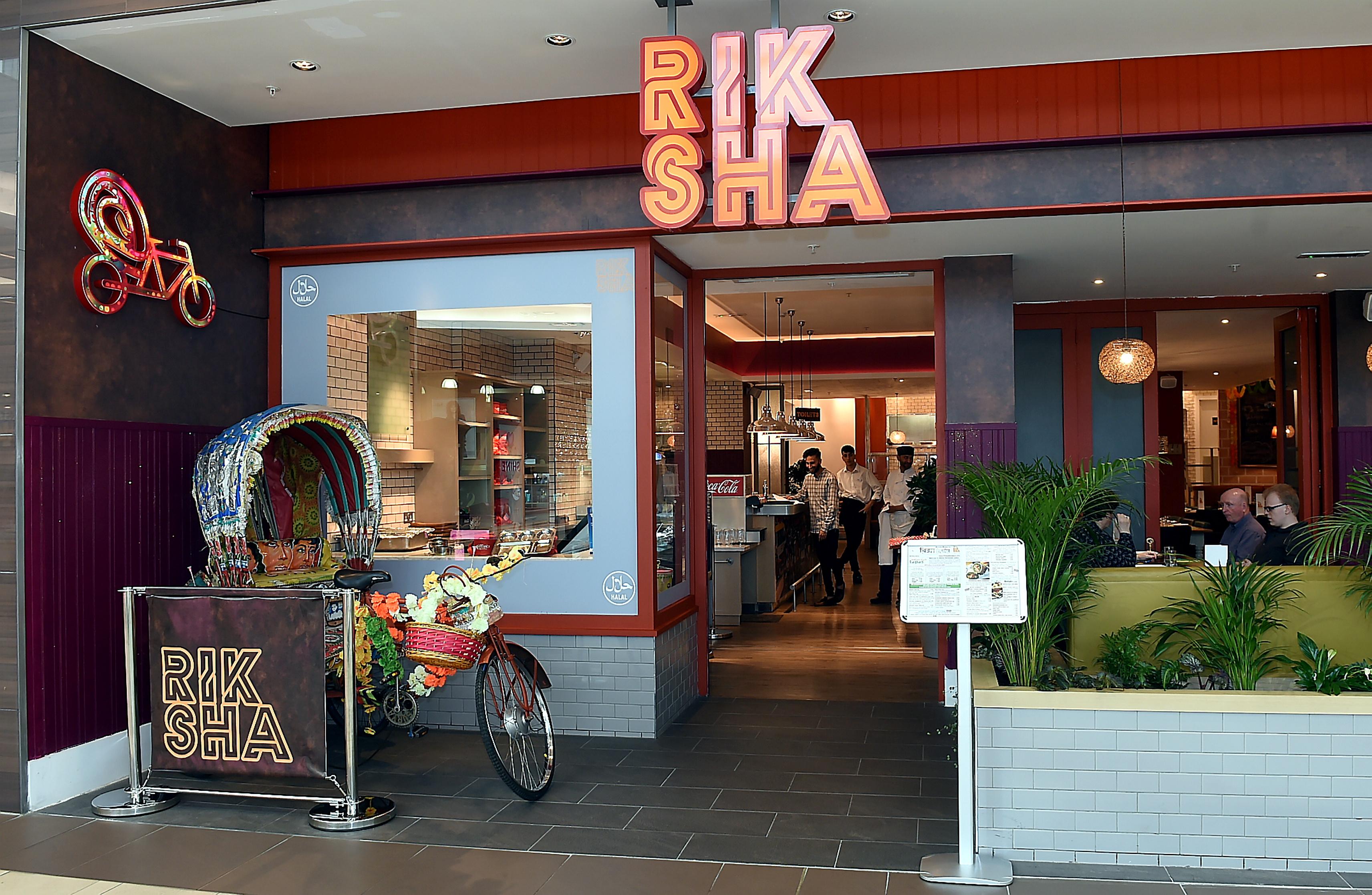 Rik Sha restaurant, Union Square, Aberdeen