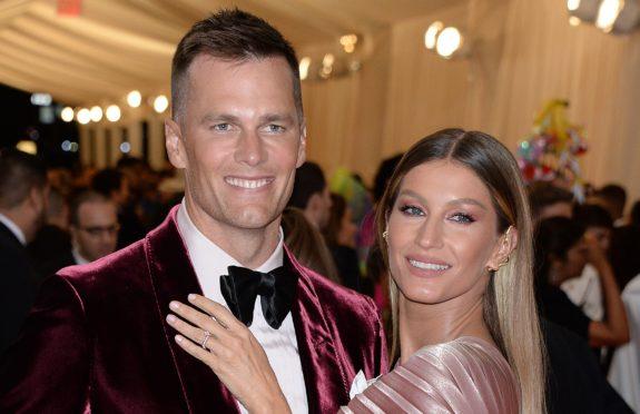 Tom Brady with his Brazilian supermodel wife Gisele Bundchen