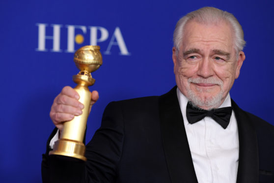 Brian Cox won a Golden Globe for his role in Succession