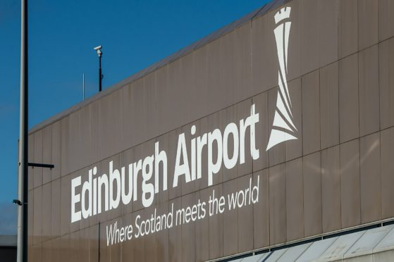 The drugs were brought in via Edinburgh Airport