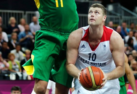 Robert Archibald in action at the 2012 London Olympics
