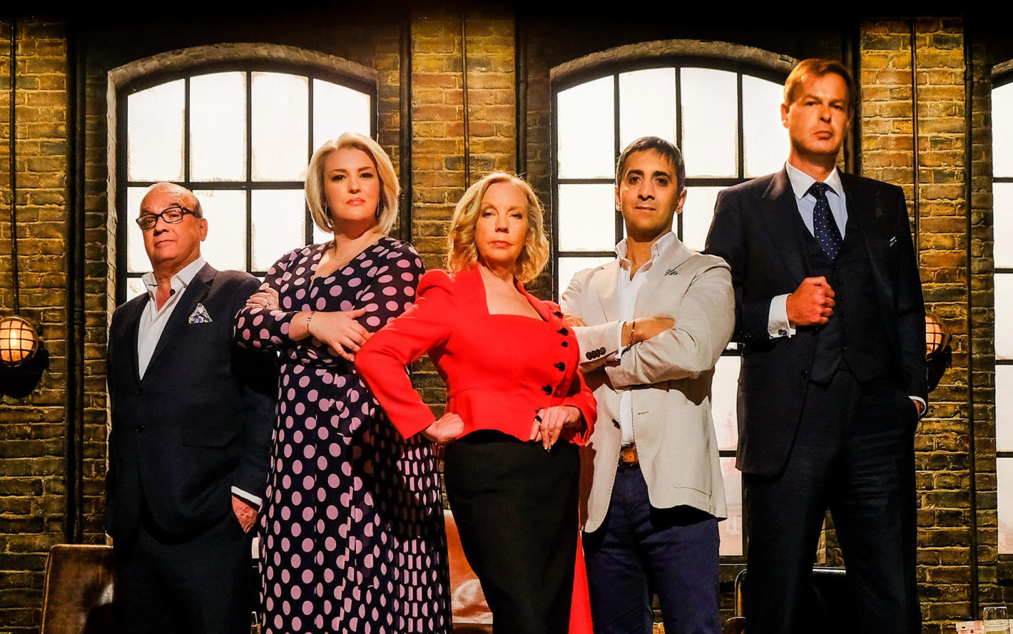 Television's hard-hitting Dragons, left to right, Touker Suleyman, Jenny Campbell, Deborah Meaden, Tej Lalvani and Peter Jones