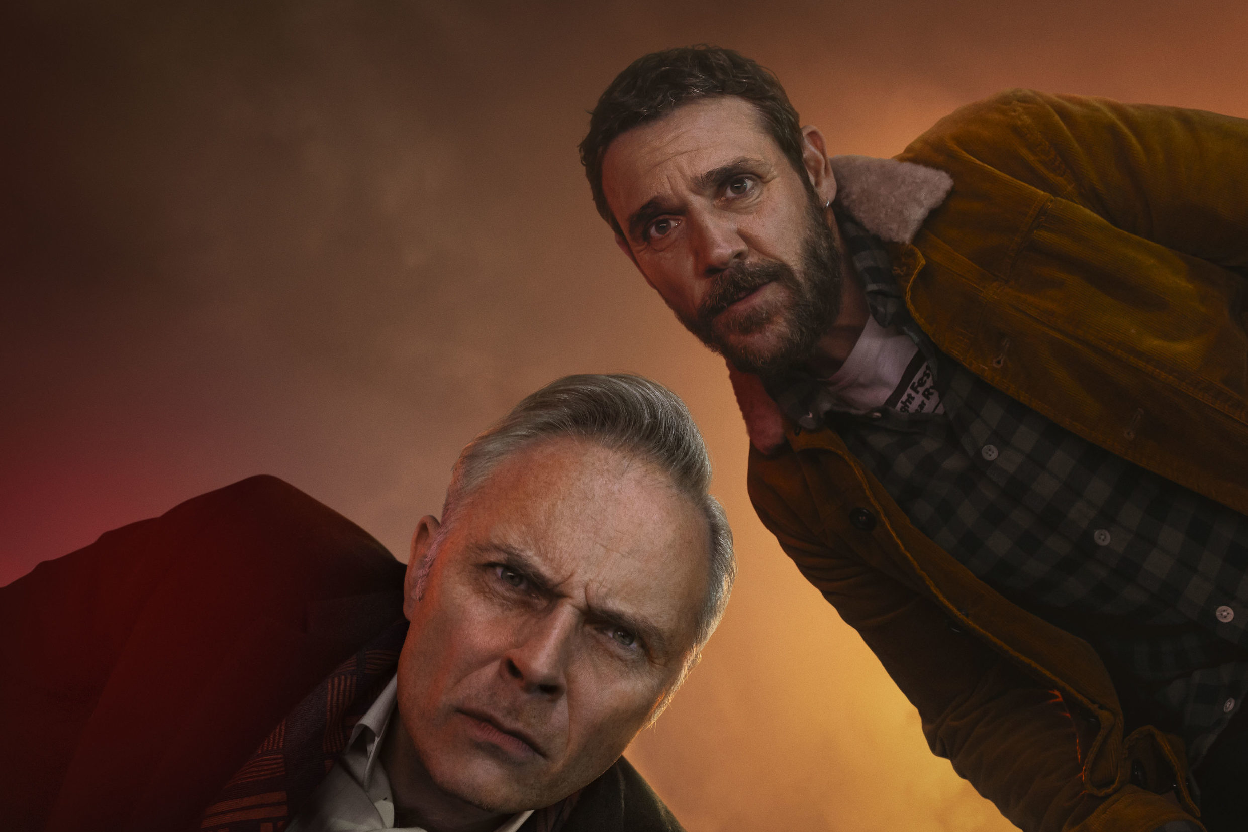 Mark Bonnar and Jamie Sives in the acclaimed BBC Scotland drama Guilt