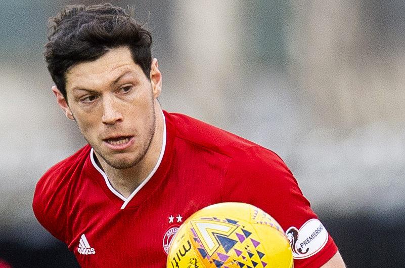 Aberdeen defender Scott McKenna