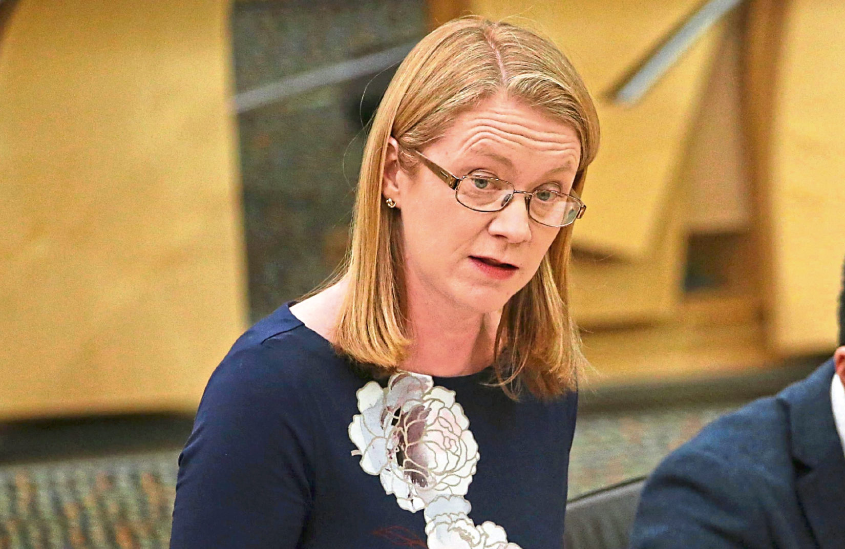 Shirley-Anne Somerville, Cabinet Secretary for Social Security and Older People, at First Minister's Questions