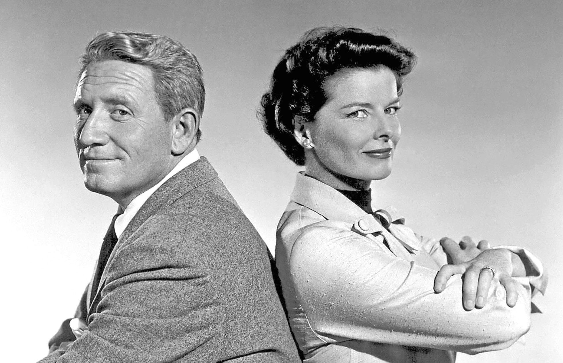 Katharine Hepburn with Spencer Tracy in Adam's Rib (1949)