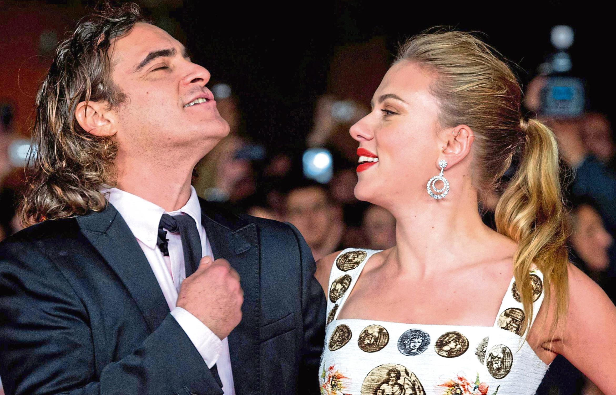 Joaquin Phoenix and Scarlett Johansson are hoping to win big