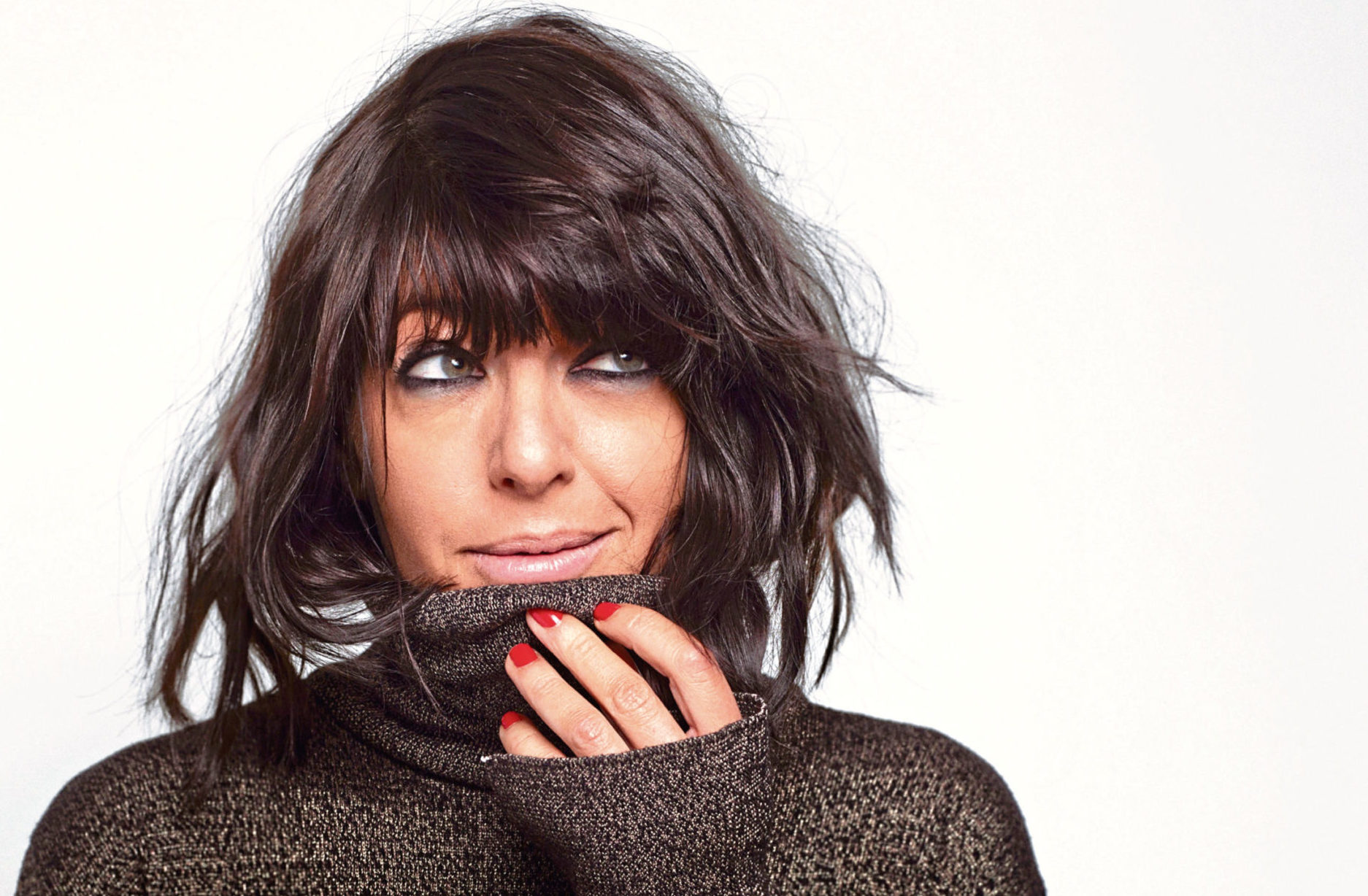 TV presenter Claudia Winkleman's hair is  marvellously messy