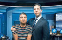 Nick Mohammed and David Schwimmer in security force caper Intelligence