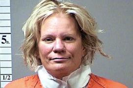 Police mugshot of Pamela Hupp