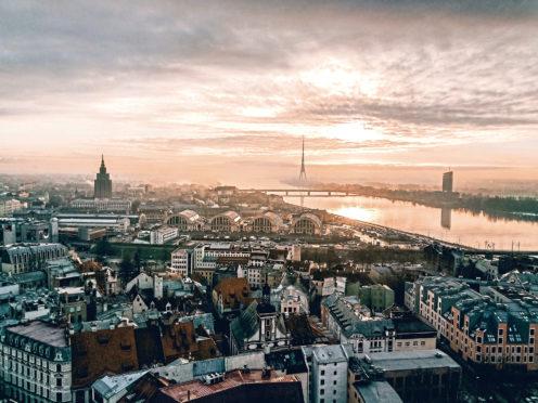 Riga in Latvia