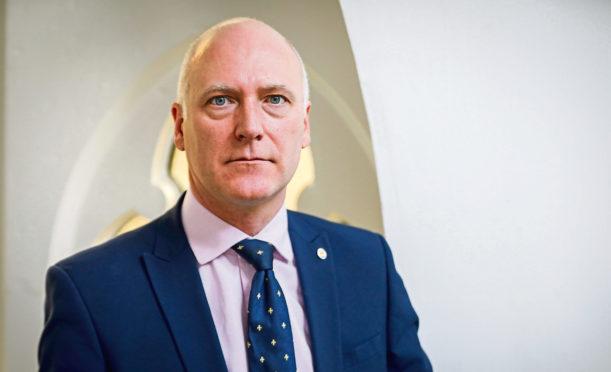 Scotland's minister for public health Joe FitzPatrick