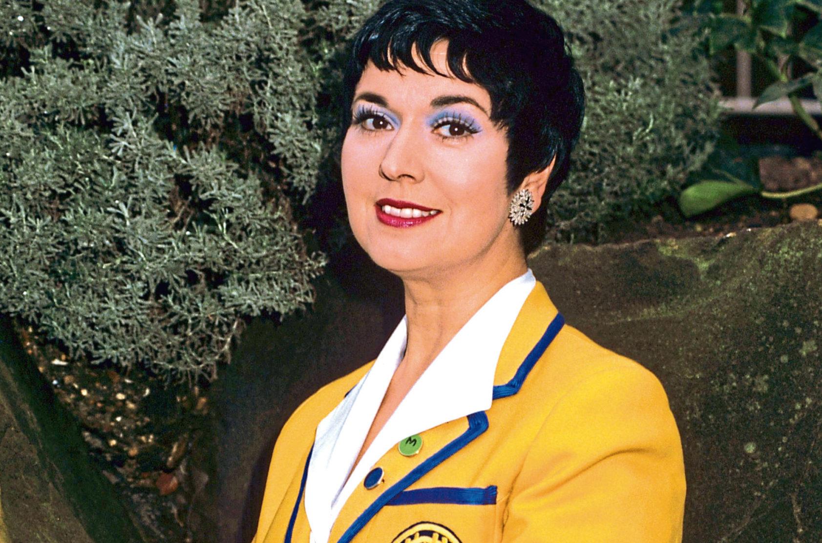 Ruth Madoc in Hi-de-Hi!
