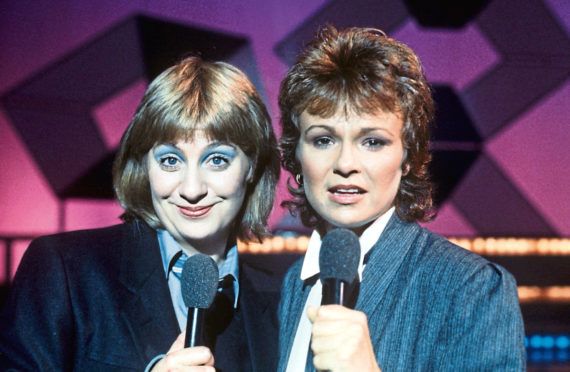 Victoria Wood and Julie Walters in 1980