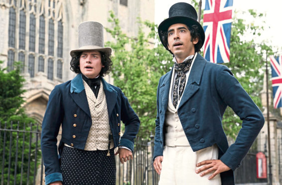 Aneurin Barnard and Dev Patel in The Personal History Of David Copperfield, based on the 1849 Charles Dickens novel