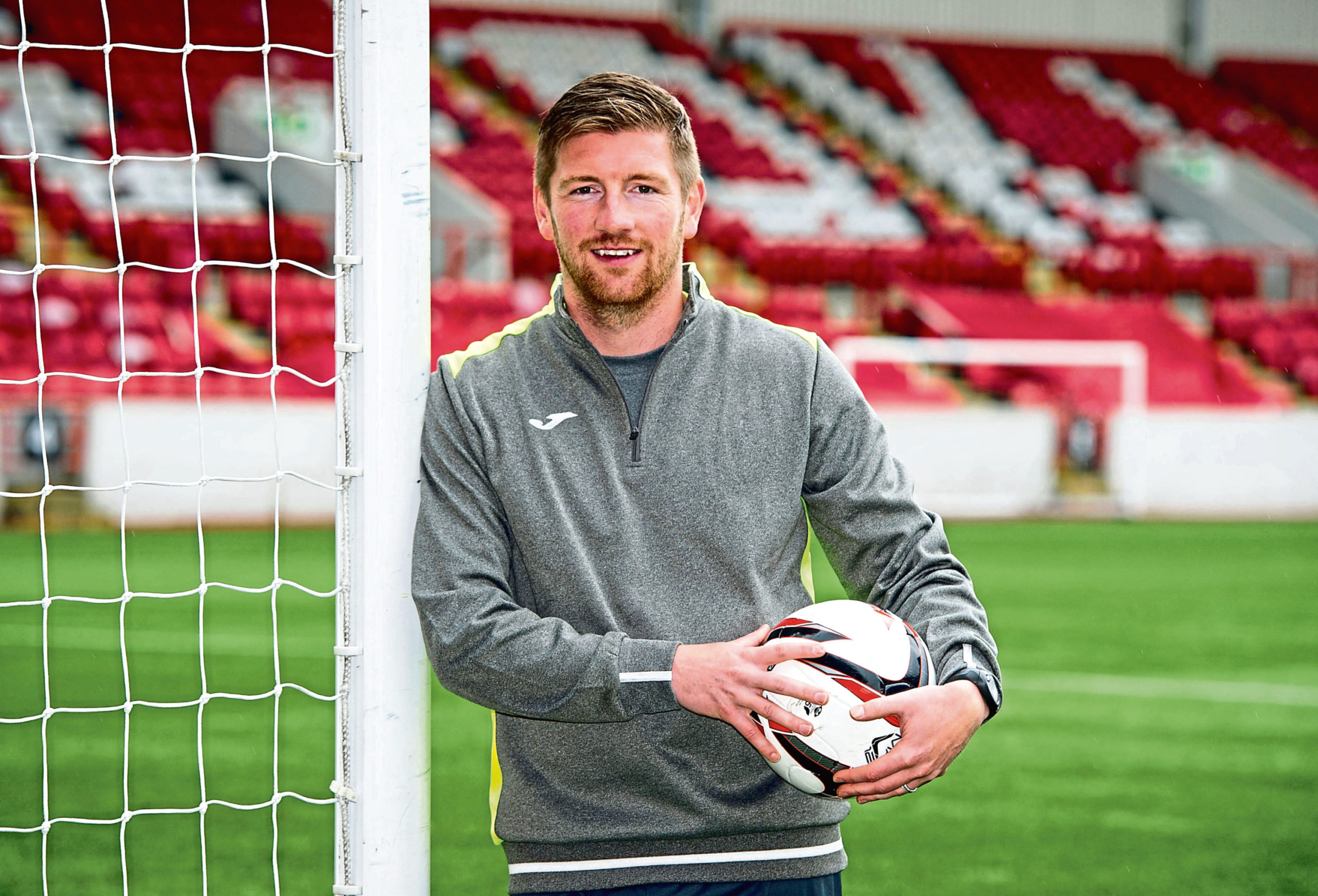 Mark Wilson is relishing the challenge of being Brechin City manager