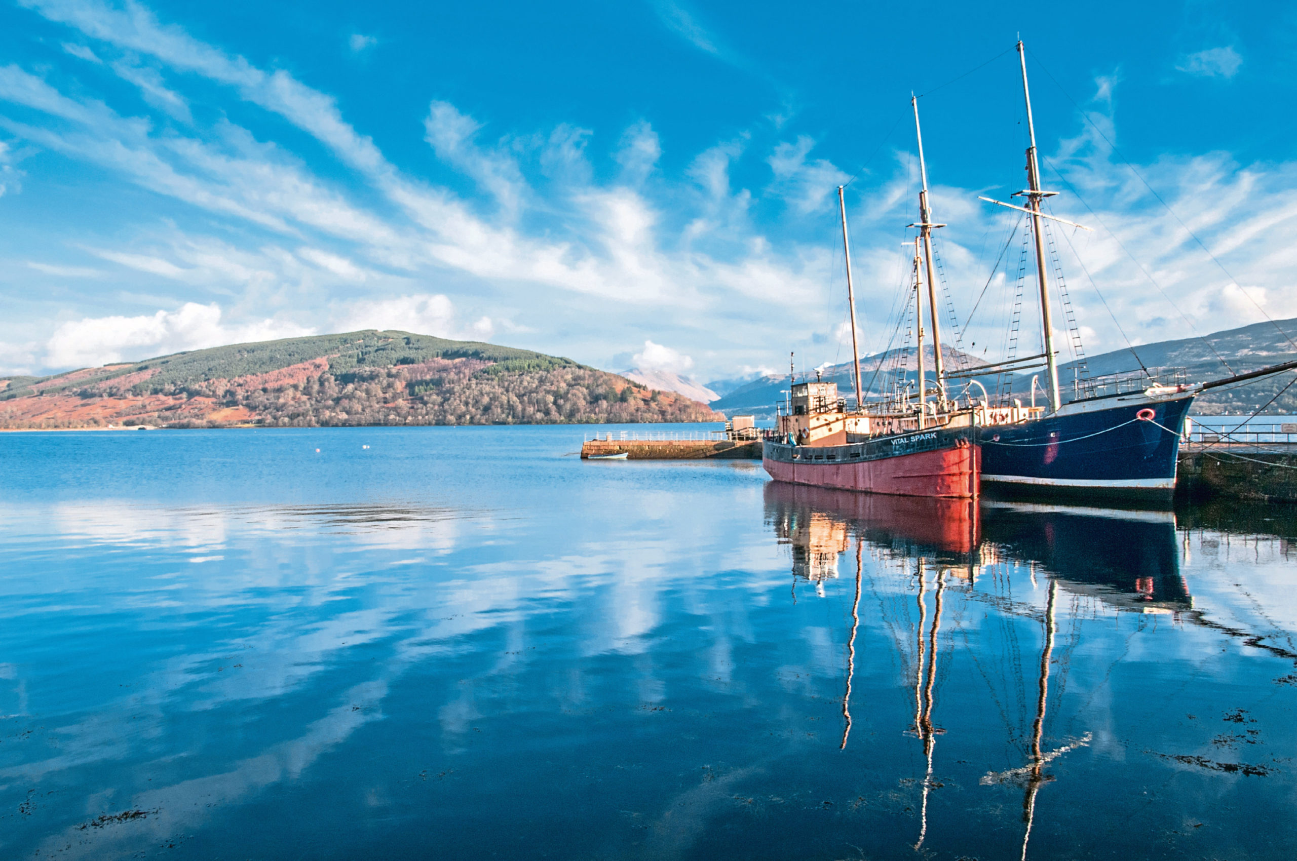 Loch Fyne in Argyll is known for producing excellent oysters