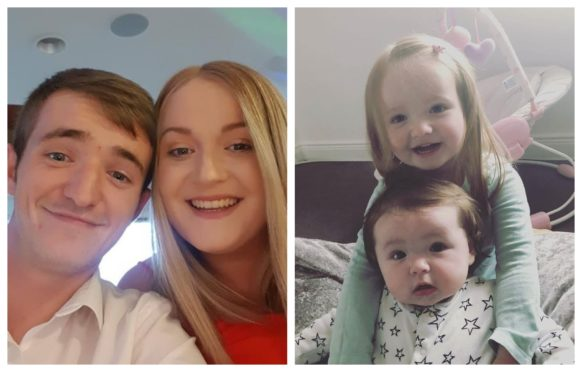 Parents Rhys and Gemma Cousin were killed in the crash with three-year-old Peyton and sister Heidi, aged one year