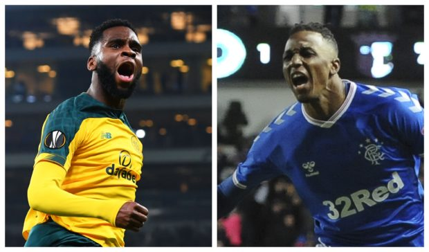 Odsonne Edouard and Joe Aribo were goalscoring heroes in midweek. They could clash in the Europa League