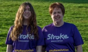 Survivor takes on charity run challenge to highlight hidden effects of stroke, and how it can happen to anyone