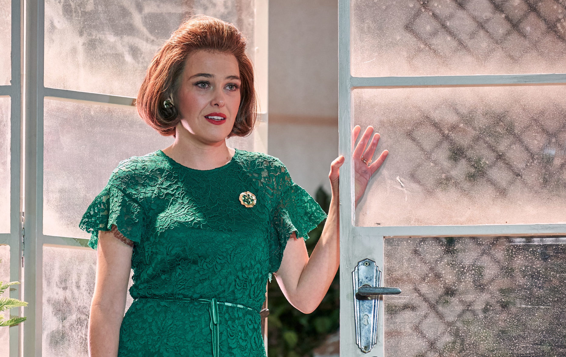 Not Going Out star Sally Bretton plays Margot in the play Dial M For Murder