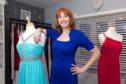 Laura McKinnon, who runs Laura's Dresses