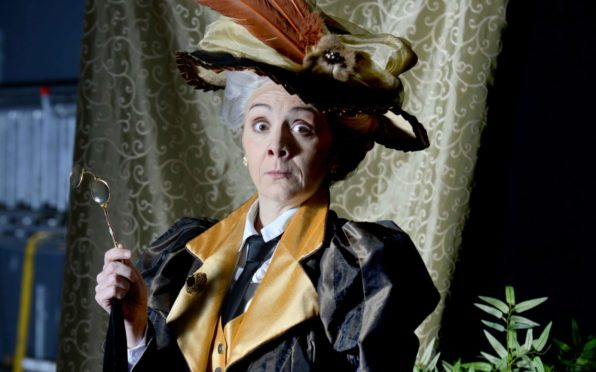 Karen Dunbar as Lady Bracknell in The Importance Of Being Earnest