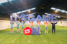 VIDEO: Hibs stars show their support for Sport Relief